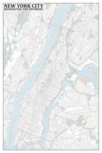 Load image into Gallery viewer, New York City Typographic Framed Poster
