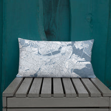 Load image into Gallery viewer, Boston Typographic Premium Pillow