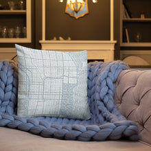 Load image into Gallery viewer, Chicago Typographic Premium Pillow