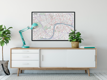 Load image into Gallery viewer, London Typographic Framed Poster