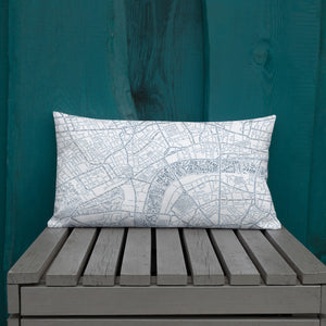 London Typographic Premium Pillow