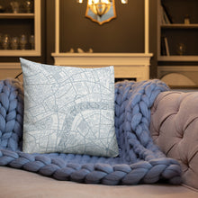 Load image into Gallery viewer, London Typographic Premium Pillow