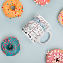 Load image into Gallery viewer, London Typographic Mug