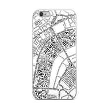Load image into Gallery viewer, London Typographic iPhone Case