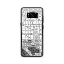 Load image into Gallery viewer, Washington DC Typographic Samsung Case