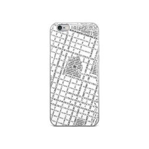 Austin Typographic iPhone Case