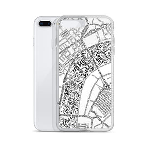 London Typographic iPhone Case
