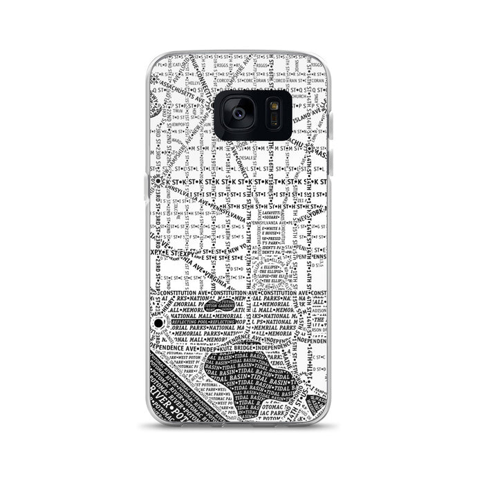 Washington DC Typographic Samsung Case