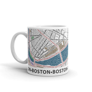 Boston Typographic Mug