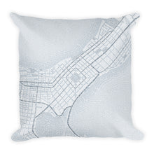 Load image into Gallery viewer, Madison Typographic Premium Pillow
