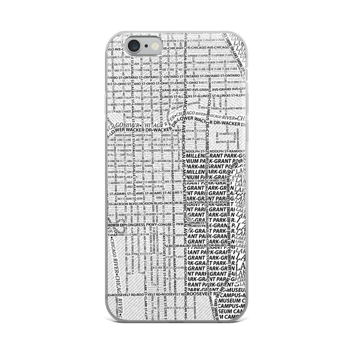 Chicago Typographic iPhone Case