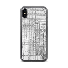 Load image into Gallery viewer, Chicago Typographic iPhone Case