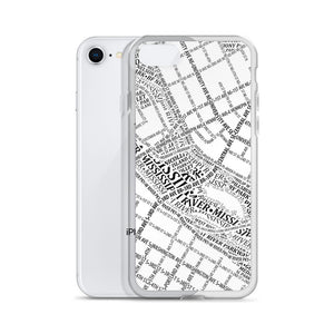 Minneapolis Typographic iPhone Case