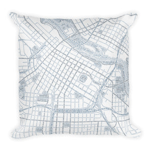 Minneapolis Typographic Premium Pillow