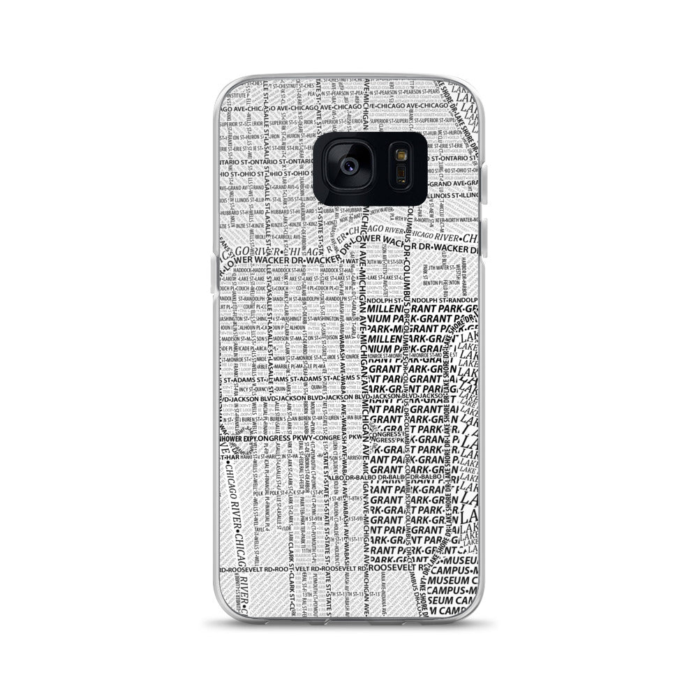 Chicago Typographic Samsung Case