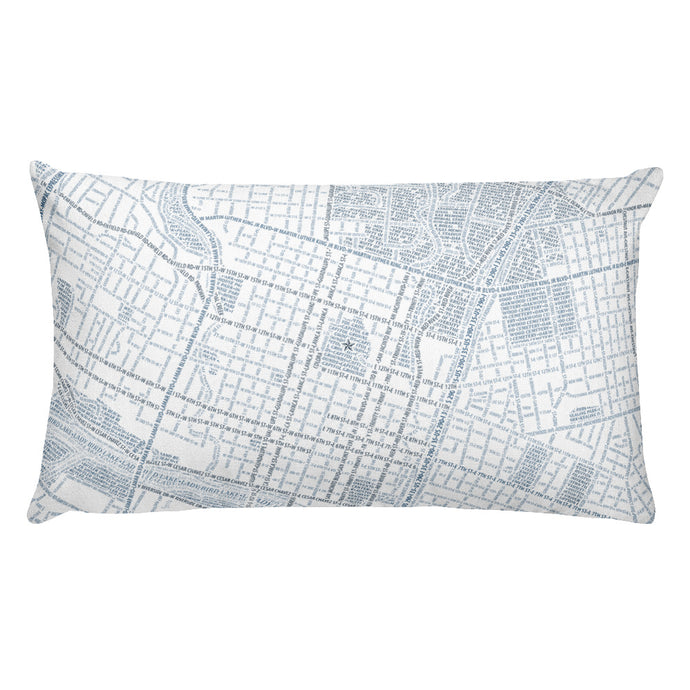 Austin Typographic Premium Pillow