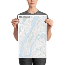 Load image into Gallery viewer, New York City Typographic Poster