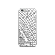Load image into Gallery viewer, Seattle Typographic iPhone Case