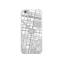 Load image into Gallery viewer, Philadelphia Typographic iPhone Case