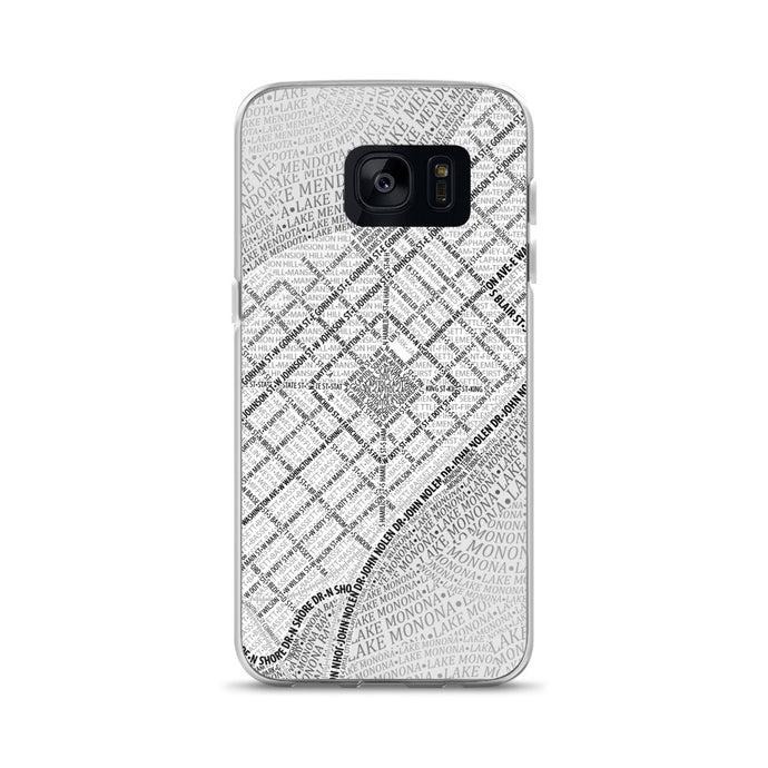 Madison Typographic Samsung Case
