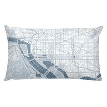 Load image into Gallery viewer, Washington DC Typographic Premium Pillow