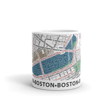 Load image into Gallery viewer, Boston Typographic Mug
