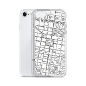 Philadelphia Typographic iPhone Case