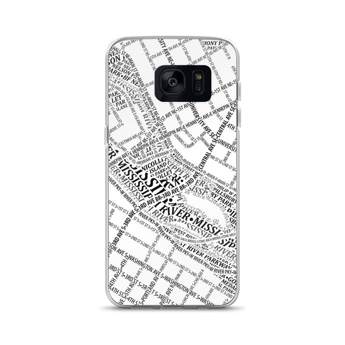 Minneapolis Typographic Samsung Case