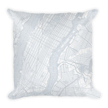 Load image into Gallery viewer, New York Typographic Premium Pillow