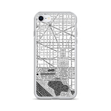 Load image into Gallery viewer, Washington DC Typographic iPhone Case