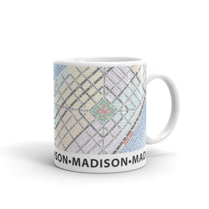 Madison Typographic Mug