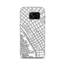 Load image into Gallery viewer, Seattle Typographic Samsung Case