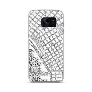 Seattle Typographic Samsung Case