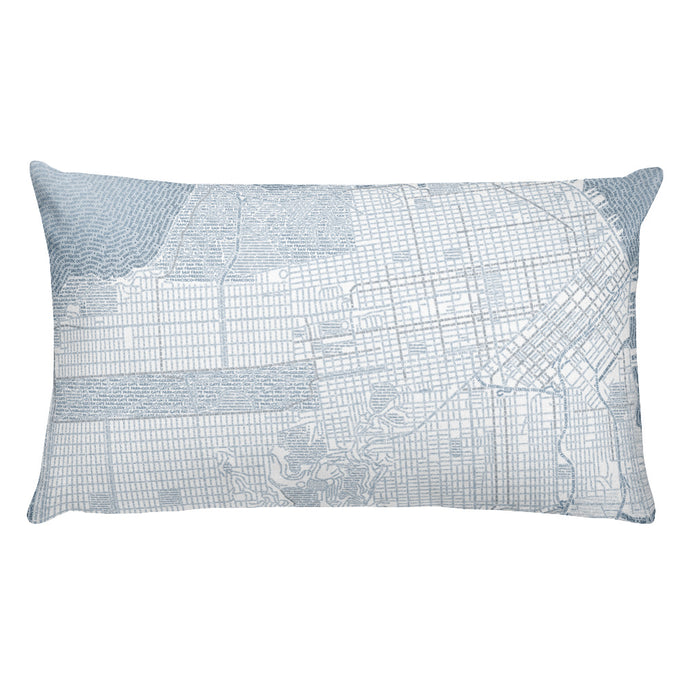 San Francisco Typographic Premium Pillow