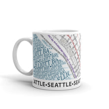 Load image into Gallery viewer, Seattle Typographic Mug