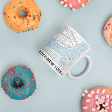 Load image into Gallery viewer, New York Typographic Mug