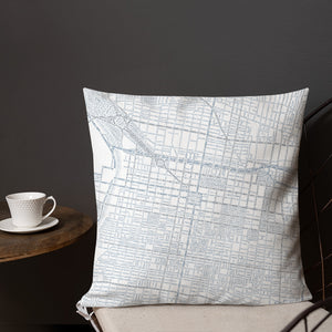 Philadelphia Typographic Premium Pillow