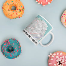 Load image into Gallery viewer, San Francisco Typographic Mug