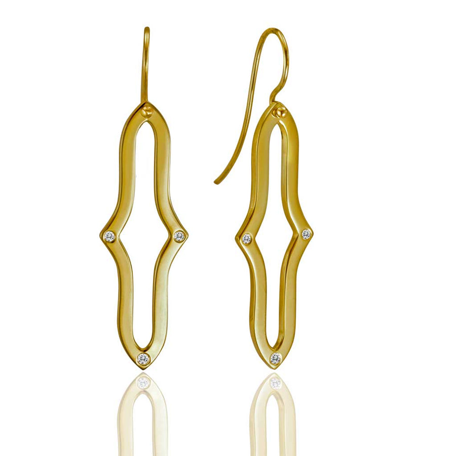 Curved Idrissa Earrings