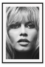 Load image into Gallery viewer, Italian Luxury Group Print 50x70cm / Black Brigitte Bardot Brand