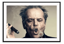 Load image into Gallery viewer, Italian Luxury Group Print 50x70cm / Black Jack Nicholson Brand