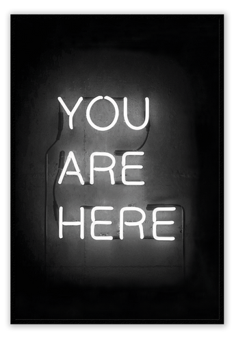 You are here Neon