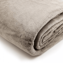 Load image into Gallery viewer, Brogo Micro Mink Supersoft Throw - Mocha