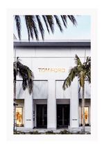 Load image into Gallery viewer, Italian Luxury Group Print 60x90cm / Unframed Tom Ford Rodeo Brand