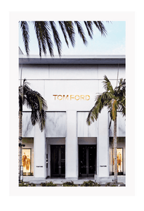 Italian Luxury Group Print 60x90cm / Unframed Tom Ford Rodeo Brand