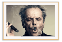 Load image into Gallery viewer, Italian Luxury Group Print 50x70cm / Natural Jack Nicholson Brand