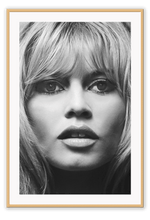 Load image into Gallery viewer, Italian Luxury Group Print 50x70cm / Natural Brigitte Bardot Brand