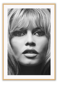 Italian Luxury Group Print 50x70cm / Natural Brigitte Bardot Brand