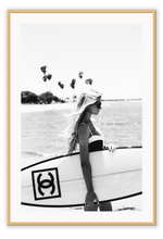 Load image into Gallery viewer, Italian Luxury Group Print 50x70cm / Natural Katerina Surf Brand