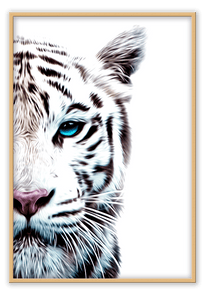Italian Luxury Group Print 50x70cm / Natural Tiger Brand